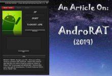تصویر از نرم افزار هک گوشی AndroRat لینک دانلود ورژن جدید