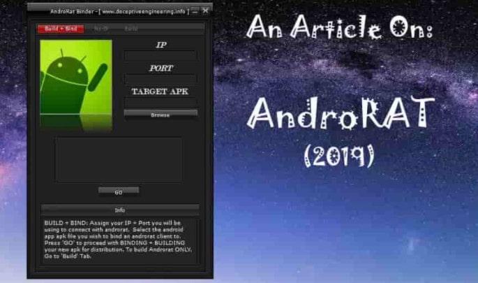 نرم افزار هک گوشی AndroRat لینک دانلود ورژن جدید