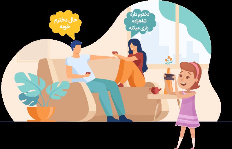 سامانه مراقبت از خانواده|نرم افزار کنترل والدین | ردیابی و کنترل گوشی