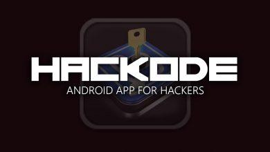 تصویر از دانلود برنامه hackode برای هک اندروید تست نفوذ