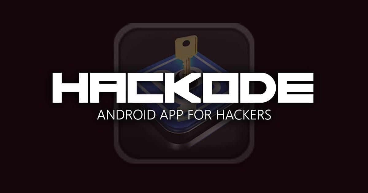 دانلود برنامه hackode برای هک اندروید تست نفوذ