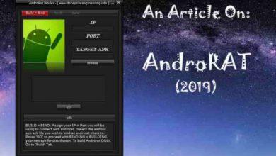 تصویر از دانلود رایگان رات اندروید | نفوذ و دسترسی به اندروید androrat